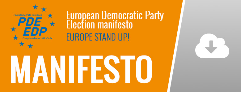 European Democratic Party Election manifesto