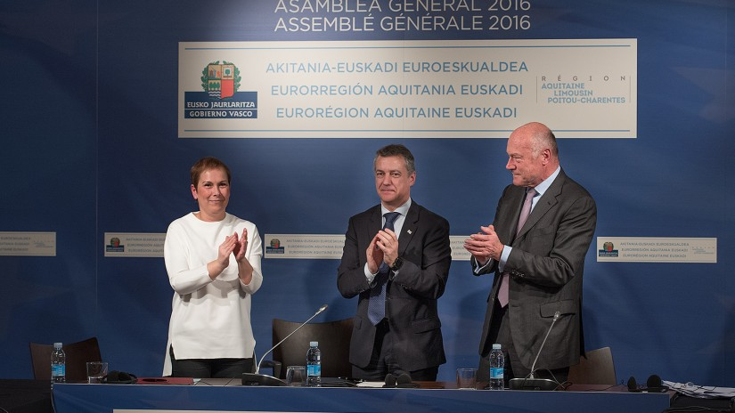 Aquitaine in the Basque Country approve the incorporation of Navarre into the Euro-region